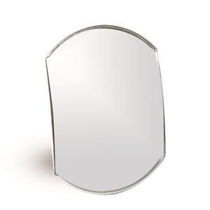 "Blind Spot Mirror - 4""x5.5"" Convex Bilingual"