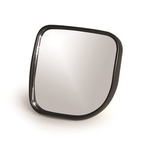 "Blind Spot Mirror - 3.25""x3.25"" Convex Wide Angle Bilingual"