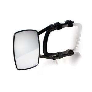 Towing Mirror Clamp-On - Single Mirror Bilingual