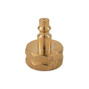 Sprinkler Kit Blow Out Plug with Female Fitting, Brass
