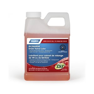 TST Drain Valve Lube with Coco Oil - 16oz Bilingual