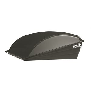 Aero-flo Roof Vent Cover - Black 6 pack Bilingual
