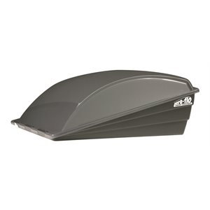 Aero-flo Roof Vent Cover - Smoke 6 pack Bilingual