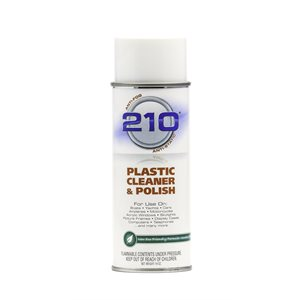 210 Plastic Cleaner / Polish - 14oz Spray