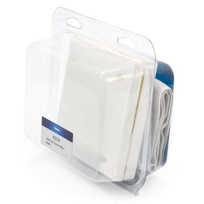 Camco Mfg 42216 Slideout Corner Plates White