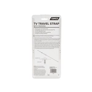 Camco TV Travel Strap with Padding