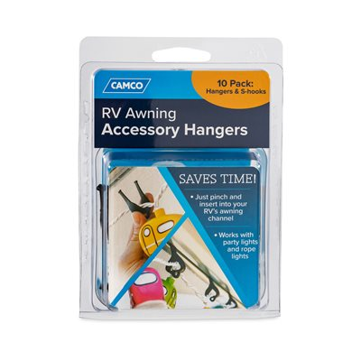 Camco Rv Awning Accessory Hangers 10 Pack