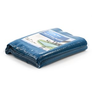Awning Mat 6' x 9' - Blue Reversable Bilingual
