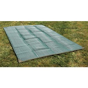 Awning Mat 6' x 9' - Green Reversable Bilingual