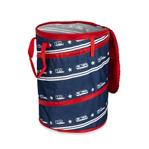 Camco Life is Better at the Campsite Pop-Up Container, 24-Inches x 18-Inches, Patriotic Design