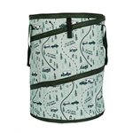 Camco Life is Better at the Campsite Pop-Up Container, 24-Inches x 18-Inches, Map Design
