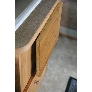 Camco Bamboo Accents RV Countertop Extension, 12-Inches (L) x 13 ½-Inches (W) x ¾-Inch (Thick)