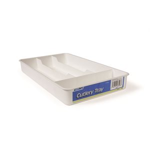 Cutlery Tray - White