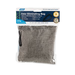 Camco Moso Bamboo Charcoal Odor Absorber Bags, 200 Grams
