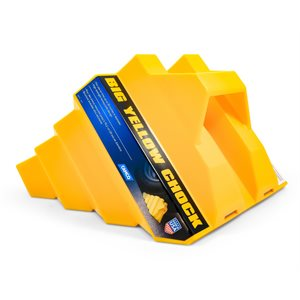"Big Yellow Chock - 30"" Wheel Chock"