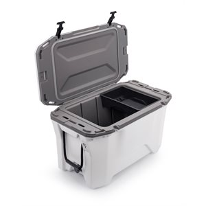 Cooler, Currituck, 30 Quart, White / Gray