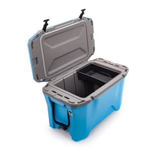 Cooler, Currituck, 30 Quart, Cyan / Gray