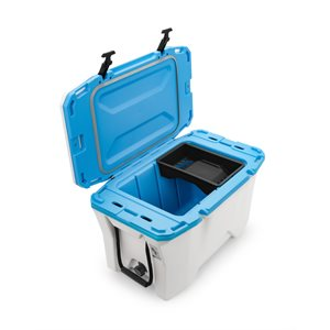 Cooler, Currituck, 30 Quart, White / Cyan