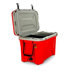 Currituck 50 Qt. Premium Cooler, Scarlet Red 200& Gray