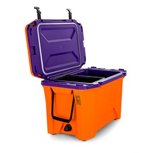 Currituck 50 Qt. Premium Cooler, Orange & Purple