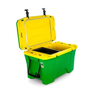 Currituck 30 Qt. Premium Cooler, Green & Yellow