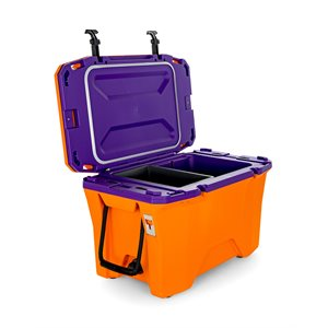 Currituck 30 Qt. Premium Cooler, Orange & Purple