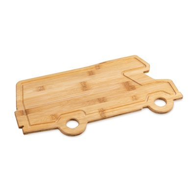 Camco Life Is Better at the Campsite Retro Motorhome Shaped Cutting Board