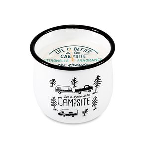 Life is Better at the Campsite Citronella Candle