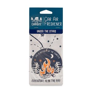Life is Better at the Campsite Air Freshener, Under the Stars