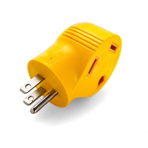 15AM / 30AF Power Grip Adapter - 90 Degree 125V / 1875W Clam