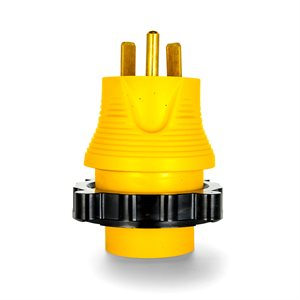 Camco 30A-30A RV Locking PowerGrip Adapter