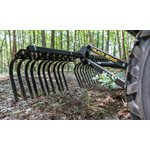 Black Boar ATV Landscape Rake Implement - Landscape Rake Implement