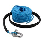 Anchor Rope, 6mm x 90', SS Shackle